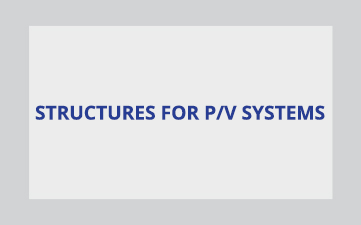 Stracurers for p/v systems